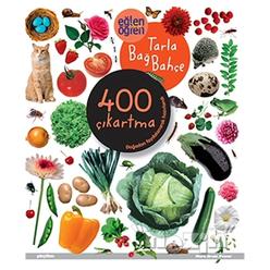 Eğlen Öğren Tarla Bağ Bahçe 400 Çıkartma - Thumbnail
