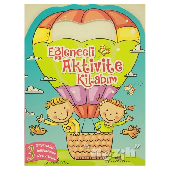 Eğlenceli Aktivite Kitabım 3 - Pembe Kitap