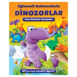 Eğlenceli Bulmacalarla Dinozorlar - Thumbnail