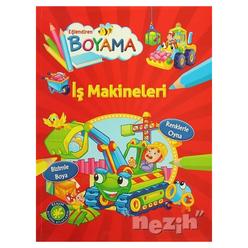 Eğlendiren Boyama - İş Makineleri - Thumbnail