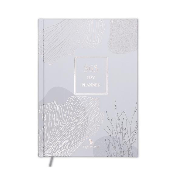Ela's Paper 365 Day Planner İngilizce Mottolu Ciltli Planlayıcı