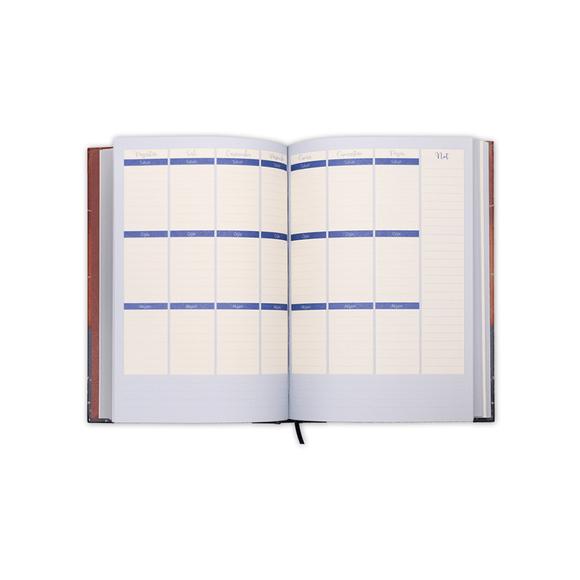 Ela's Paper 365 Day Planner Terracotta Ciltli Planlayıcı