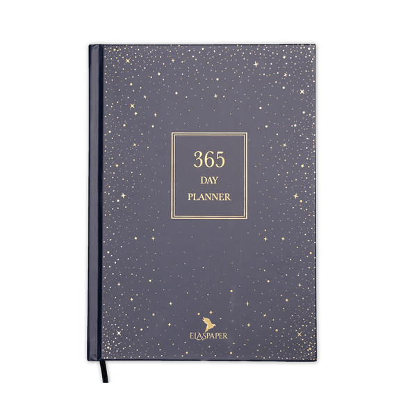 Ela's Paper 365 Day Plannner Sky Ciltli Planlayıcı