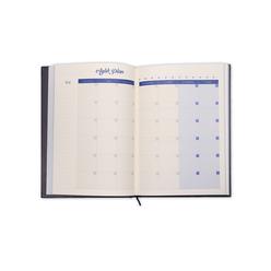 Ela's Paper 365 Day Plannner Sky Ciltli Planlayıcı - Thumbnail