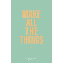 Ela's Paper Defter & Planlayıcı Make All The Things Su Yeşili - Thumbnail