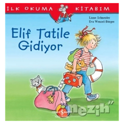 Elif Tatile Gidiyor - İlk Okuma Kitabım - Thumbnail