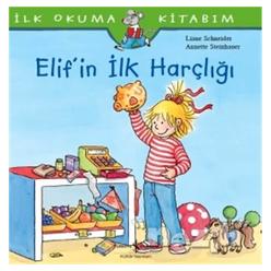 Elif'in İlk Harçlığı - İlk Okuma Kitabım - Thumbnail