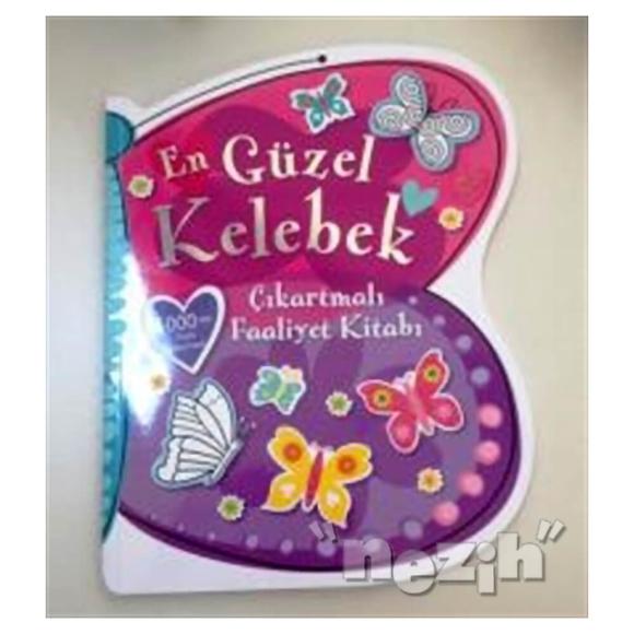 En Güzel Kelebek Çıkartmalı Faaliyet Kitabı