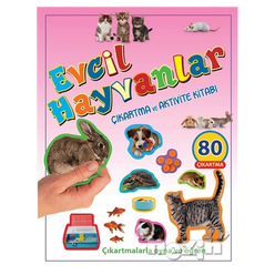Evcil Hayvanlar Çıkartma ve Aktivite Kitabı - Thumbnail