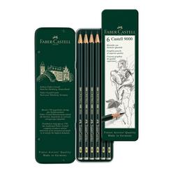 Faber Castell 9000 Derceli Kurşun Kalem 6'lı 119063 - Thumbnail