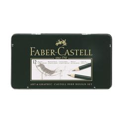 Faber Castell 9000 Design Dereceli Kurşun Kalem Seti 12'li 5B-5H - Thumbnail