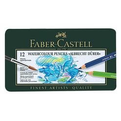 Faber Castell Albrecht Dürer Aquarell Boya Kalemi 12 Renk 117512 - Thumbnail