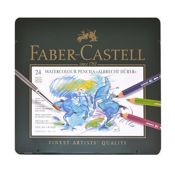 Faber Castell Albrecht Dürer Aquarell Boya Kalemi 24 Renk 117524