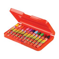 Faber Castell Altıgen Pastel Boya Kalemi 12 Renk 125308 - Thumbnail