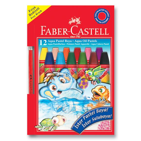 Faber Castell Aqua Pastel Boya Karton Kutu 12 Renk 125400