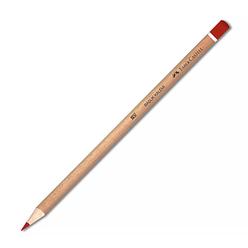 Faber Castell Başlık Kalemi Natural Kırmızı 419001 - Thumbnail