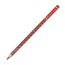 Faber Castell Bubble Başlık Kalemi Kırmızı 490001 - Thumbnail