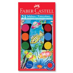 Faber Castell Büyük Boy Suluboya 21 Renk - Thumbnail