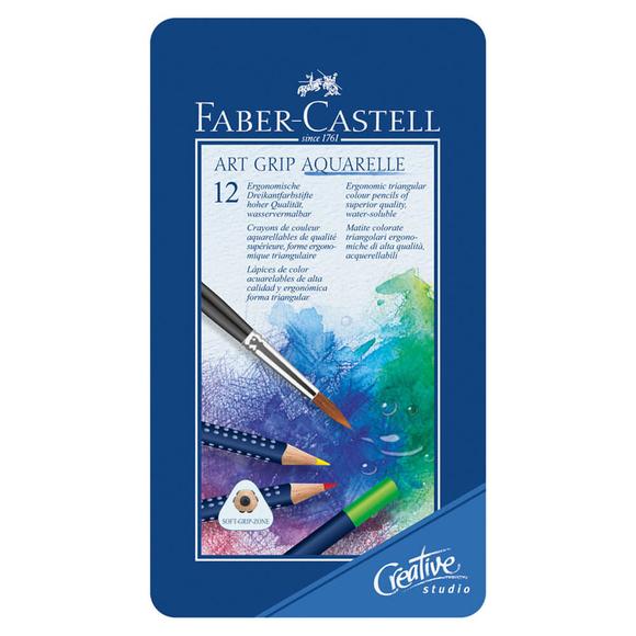 Faber Castell Creative Studio Art Grip Aquarell Boya Kalemi 12 Renk 114212