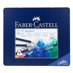 Faber Castell Creative Studio Art Grip Aquarell Boya Kalemi 24 Renk 114224 - Thumbnail