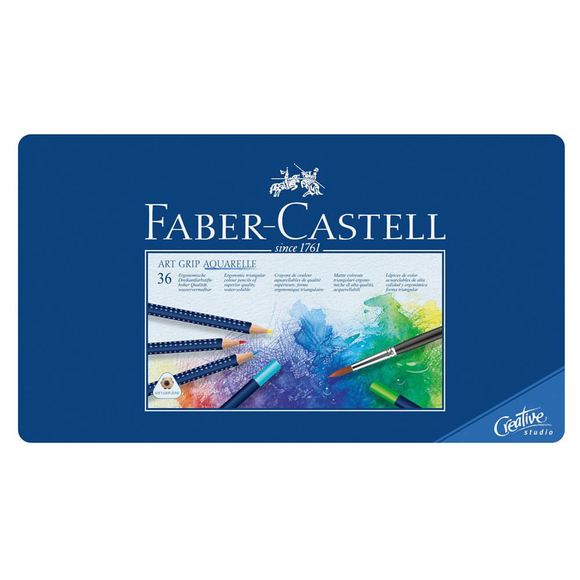 Faber Castell Creative Studio Art Grip Aquarell Boya Kalemi 36 Renk 114236