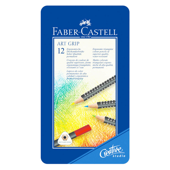 Faber Castell Creative Studio Art Grip Boya Kalemi 12 Renk 114312
