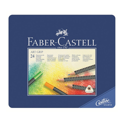 Faber Castell Creative Studio Art Grip Kuru Boya Kalemi 24 Renk 114324 - Thumbnail