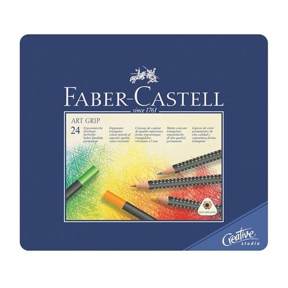 Faber Castell Creative Studio Art Grip Kuru Boya Kalemi 24 Renk 114324
