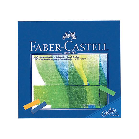 Faber Castell Creative Studio Mini Toz Pastel 48 Renk Soft 128248