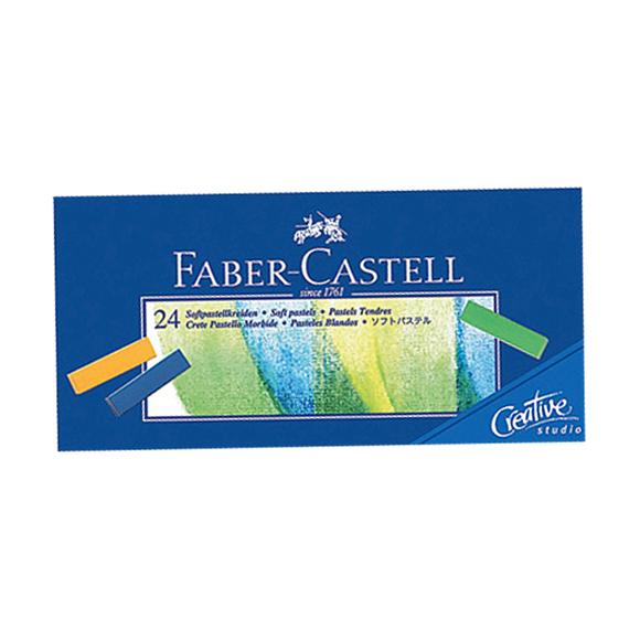 Faber Castell Creative Studio Mini Toz Pastel Boya 24 Renk Soft 128224
