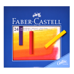 Faber Castell Creative Studio Toz Pastel Boya 24 Renk Soft 128324 - Thumbnail