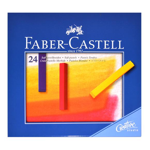 Faber Castell Creative Studio Toz Pastel Boya 24 Renk Soft 128324