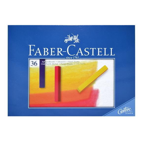 Faber Castell Creative Studio Toz Pastel Boya 36 Renk Soft 128336