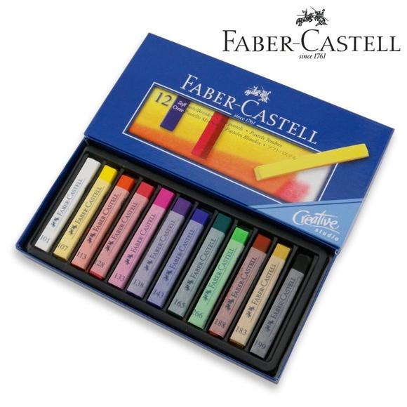 Faber Castell Creative Studio Toz Pastel Boya Soft 12 Renk