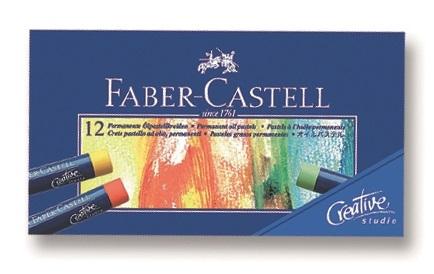 Faber Castell Creative Studio Yağlı Pastel Boya 12 Renk 127012