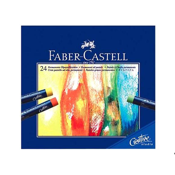Faber Castell Creative Studio Yağlı Pastel Boya 24 Renk 127024