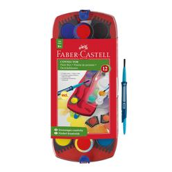 Faber Castell Değiştirilebilir Tablet Suluboya 12 Renk - Thumbnail