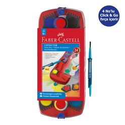 Faber Castell Değiştirilebilir Tablet Suluboya 24 Renk - Thumbnail