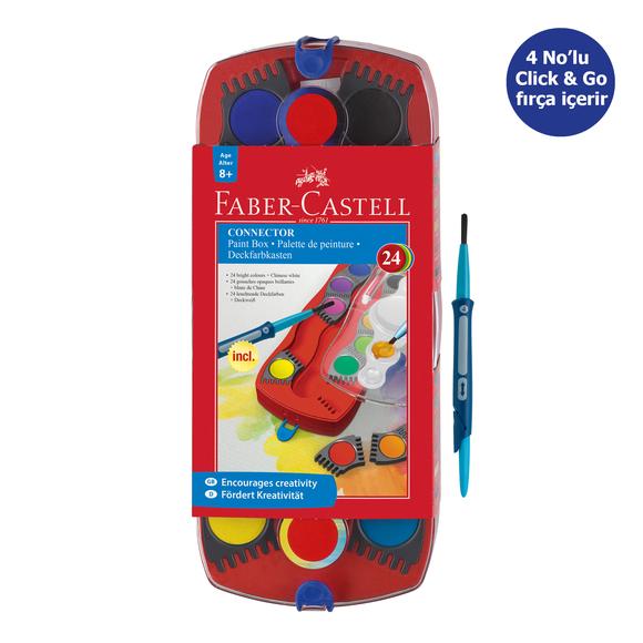 Faber Castell Değiştirilebilir Tablet Suluboya 24 Renk