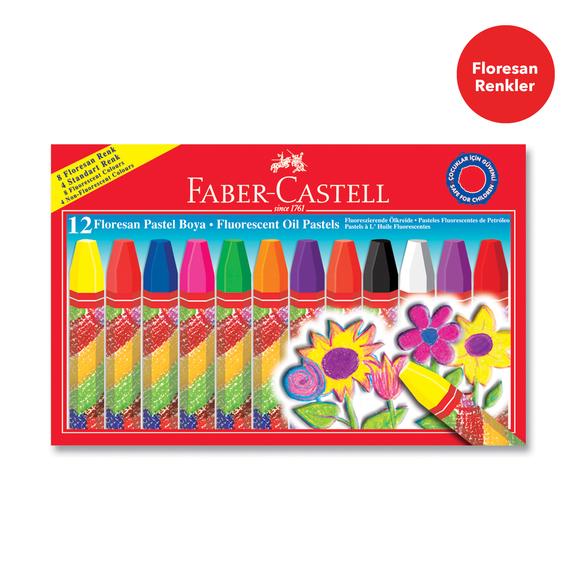 Faber Castell Floresan Pastel Boya 12 Renk 125011
