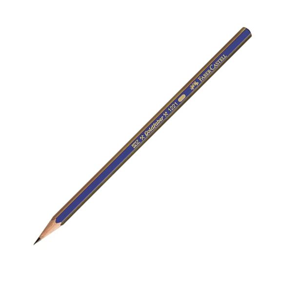 Faber Castell Goldfaber 1221 Dereceli Kurşun Kalem 3H