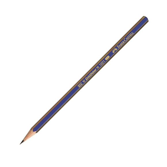 Faber Castell Goldfaber 1221 Dereceli Kurşun Kalem 4H