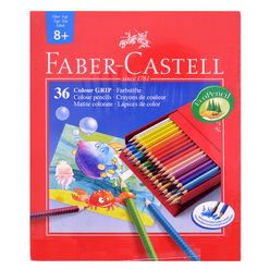 Faber Castell Grip 2001 Kuru Boya Kalemi Studio Box 36 Renk - Thumbnail