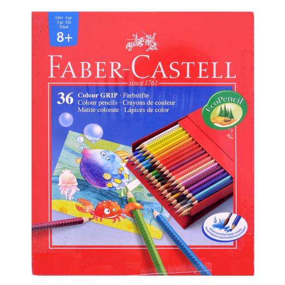 Faber Castell Grip 2001 Kuru Boya Kalemi Studio Box 36 Renk