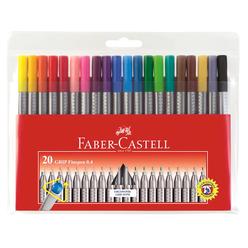 Faber Castell Grip Finepen 0.4 mm 20'li - Thumbnail