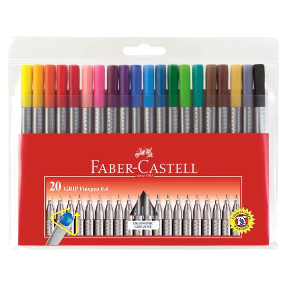 Faber Castell Grip Finepen 0.4 mm 20'li