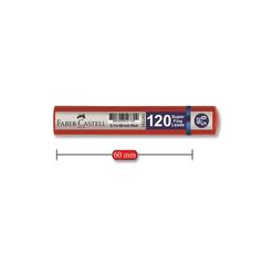 Faber Castell Grip Tüp Kalem Ucu 0.5 mm 2B 120'li - Thumbnail