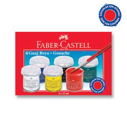 Faber Castell Guaj Boya 6'lı - Thumbnail