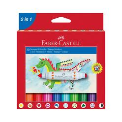 Faber Castell Jumbo Keçeli Kalem 10'lu 1551702IN1 - Thumbnail