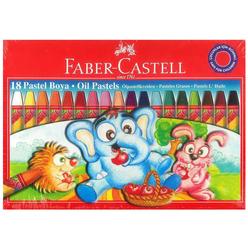Faber Castell Karton Kutu Pastel Boya 18 Renk 125318 - Thumbnail